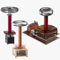 tesla coils model
