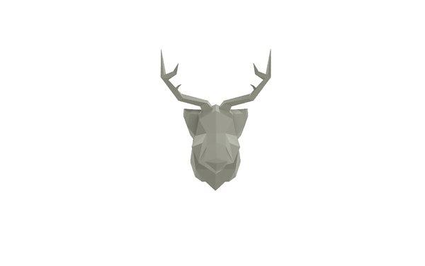 deer trophy 3D model