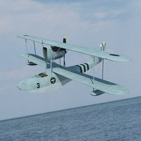 Seaplane Macchi M.41 bis