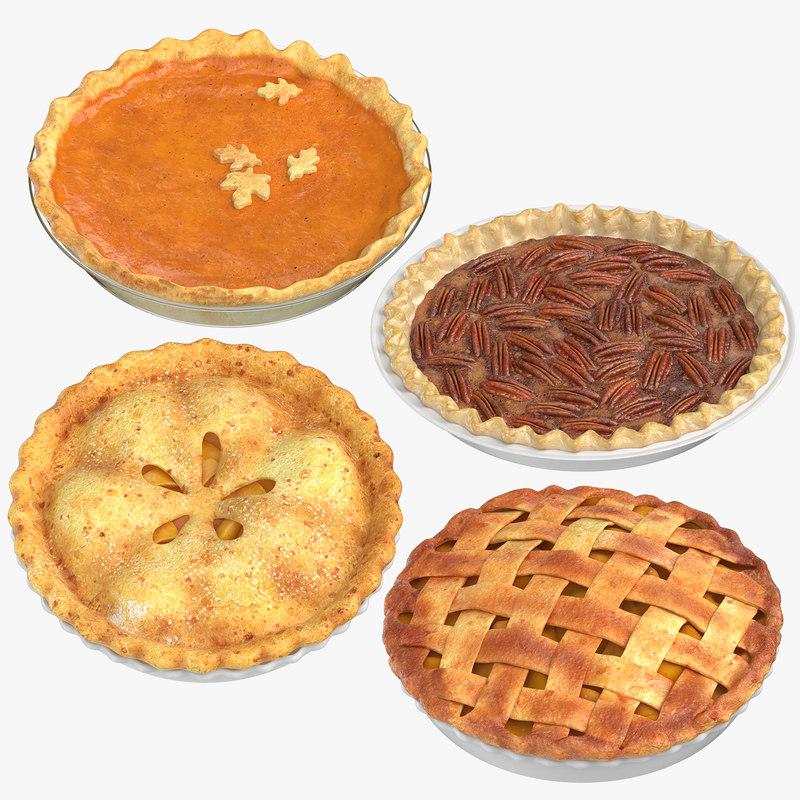 3D pies games apple model