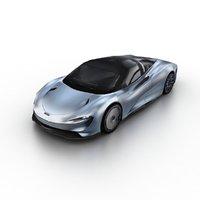 2020 mclaren speedtail 3D model