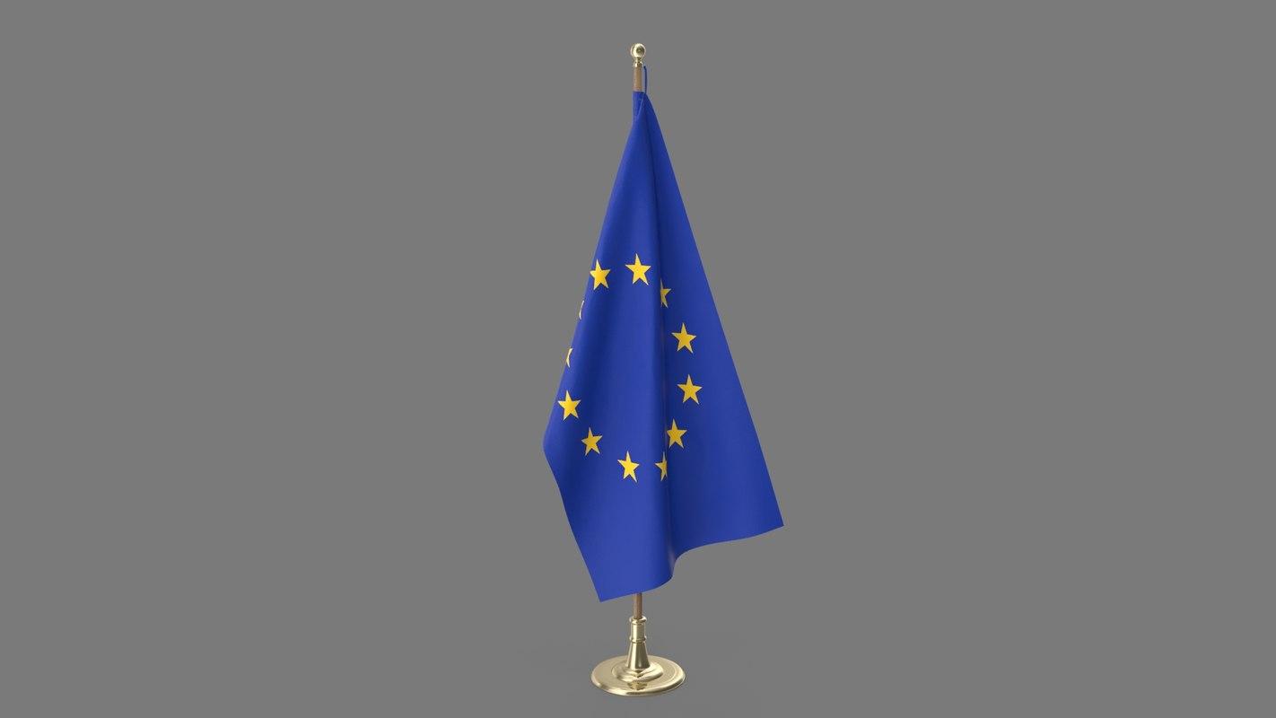 oval office eu flag model