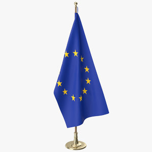 oval office eu flag model