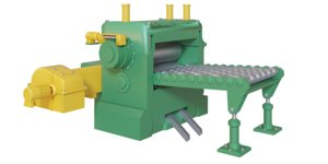 3D metal sheet roll conveyor model