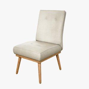 3D lightwave braveheart chair