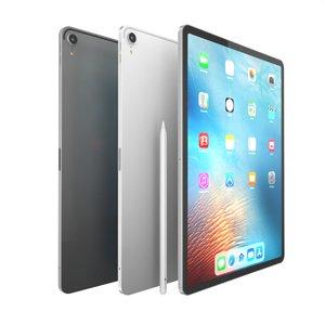 3D apple ipad pro