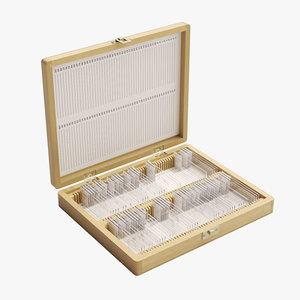 microscope slide box model