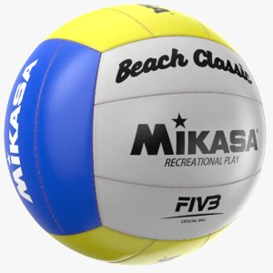 real volley ball 3D model