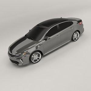 3D model kia optima 2017