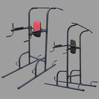 weider power tower 3D model