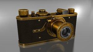 leica luxus camera 3D