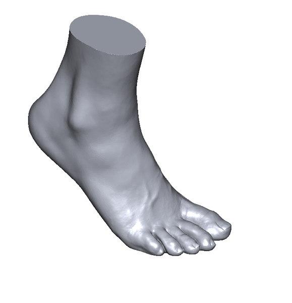 scan foot 3D