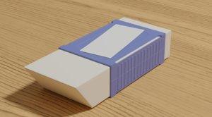 3D eraser model