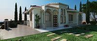 3D shot villa model