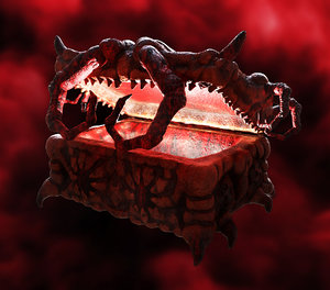 treasure demon crab - 3D model