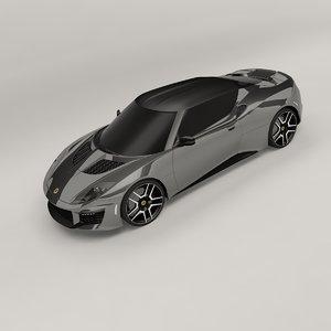 evora 400 2016 3D model