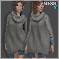 sweater shirt 3D model