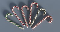 3D model christmas candy cane