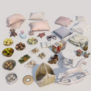 33 pc interior 3D model