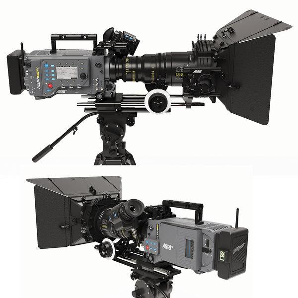 3D model camera arri alexa sxt