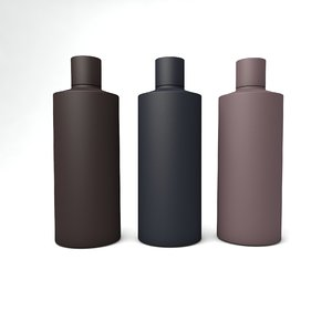 cosmetic bottle 3D