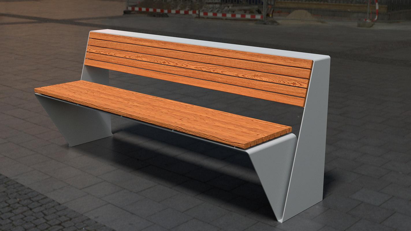 loop bench 3D model