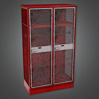 Sports Locker 02 (SNG) - PBR Game Ready