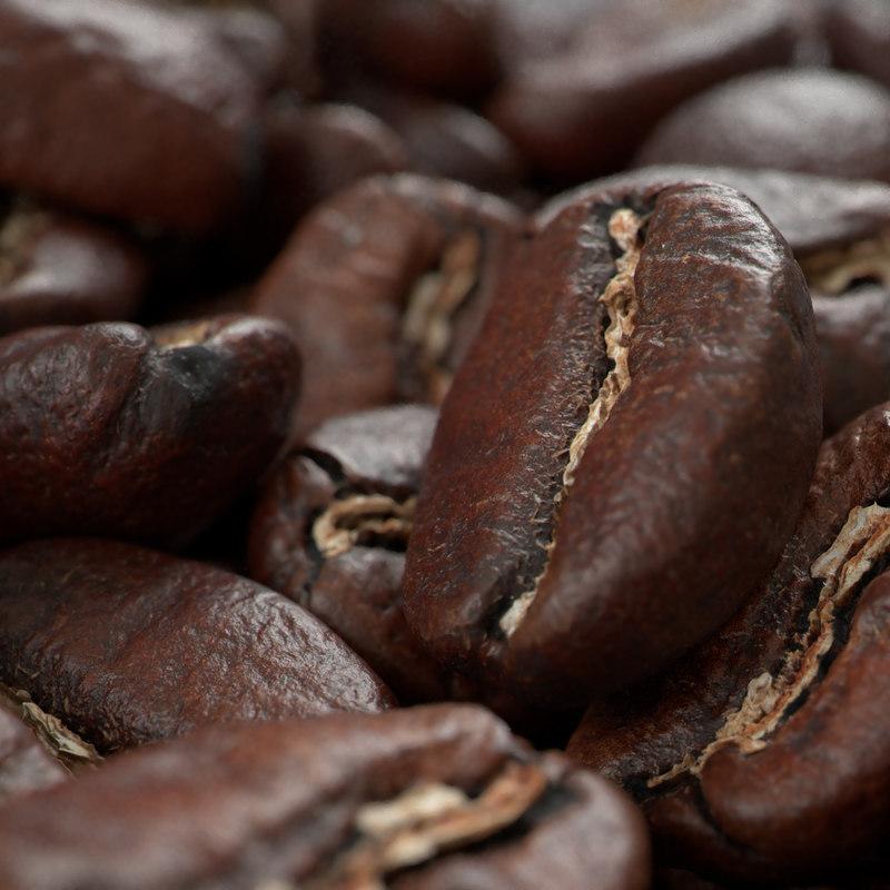 3D scan coffee beans model