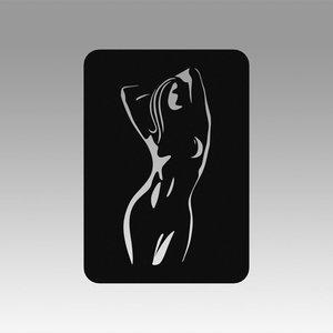 logo girl 3D model