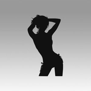 logo girl model