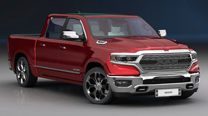 3D ram 1500 limited 2019