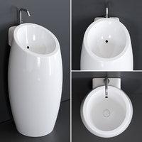 planet washbasin ceramic 8104 3D model