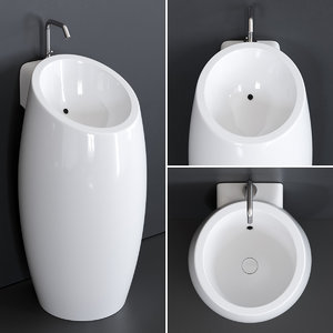 planet washbasin ceramic 8104 3D model