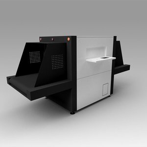3D x-ray scanner baggage