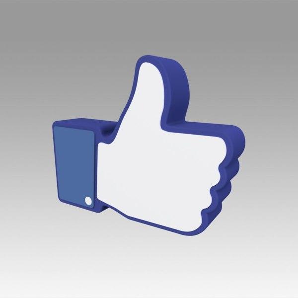 facebook thumb ok model