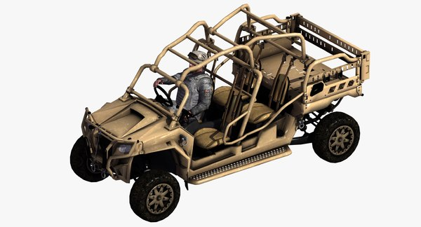 mrzr d4 vehicle driver 3D