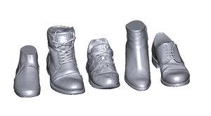 scan shoes 3D model