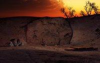 3D ancient cave model
