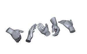 scan hands model