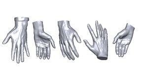 3D scan hands
