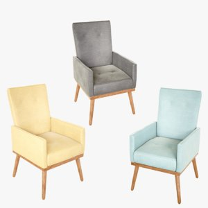 lightwave chair orange model