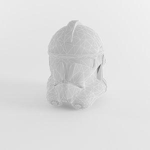 3D trooper helmet