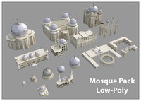 3D mosque pack