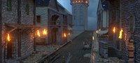 old medieval village 3D model