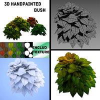 3D grass plant model