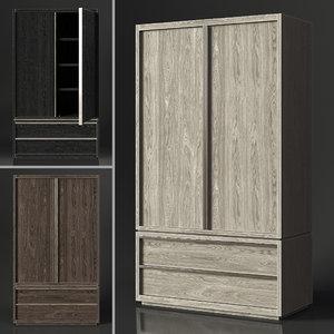 restoration bezier armoire model