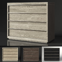 restoration bezier 4-drawer dresser model