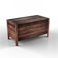 applaro ikea table wood 3D model