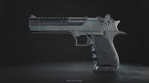 desert eagle l5 custom 3D model