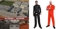 pack prison guard 3D model